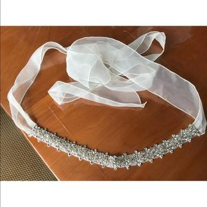 Bridal Crystal Belt